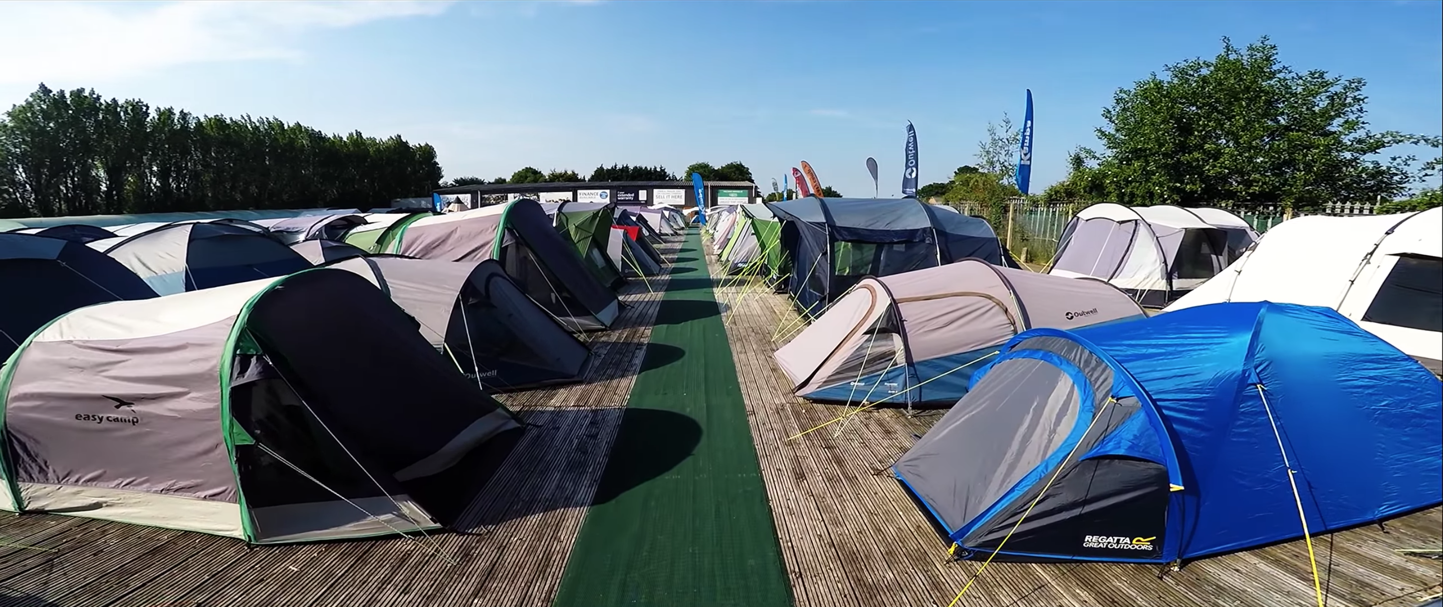 7eab52675c1b66 Camping World Shows offer the largest tent displays in the country. We  generally show anywhere from 90 to 160 tents at a time depending on which  store you ...