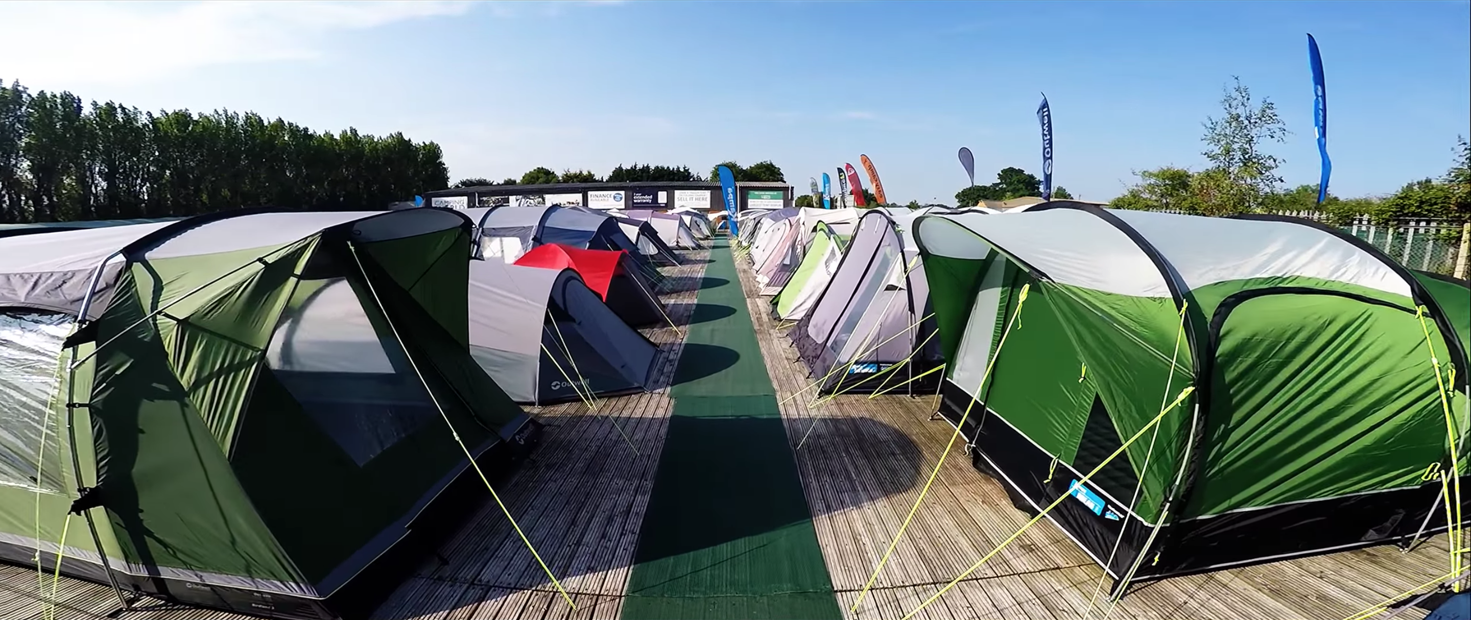 We display everything from 1 man hiking tents to large 10 man family c&ing tents. We guarantee no other tent show will offer you the range of products ... & Tent Shows