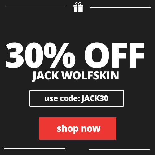 30% off Jack Wolfskin