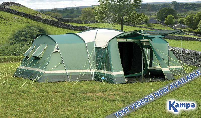 & Kampa Tent Videou0027s Now Online