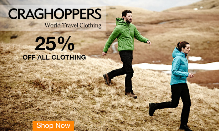 25% off Craghoppers