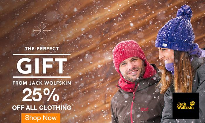 25% off Jack Wolfskin