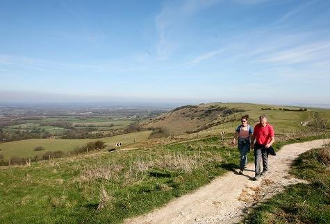 Camping And The South Downs Way
