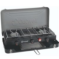 Outwell Chef Cooker Deluxe 3 Burner Stove and Toaster