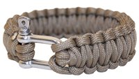 BCB Adventure Paracord Bracelet with Metal Buckle