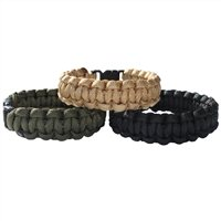 BCB Adventure Paracord Bracelet with Plastic Buckle