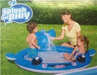 PMS Whale Spray Paddling Pool
