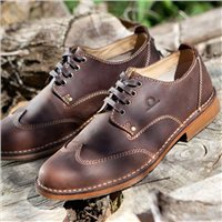 Chatham Drifter Country Wing Tip Derby Shoe