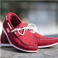 Chatham Starboard Suede Boat Shoe