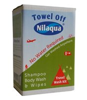 Nilaqua No Water Travel Wash Kit