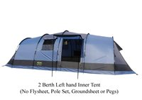 Gelert Horizon 8 Blue 2 Berth Left Hand Inner Tent ONLY