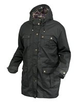 Trespass Madwax Mens Wax Jacket