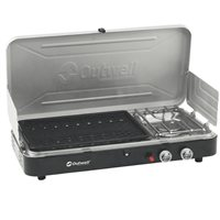 Outwell Chef Cooker 2-Burner Stove w/Grill