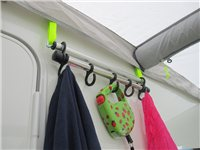 Kampa Rally Hanging Rail for Accessory Track