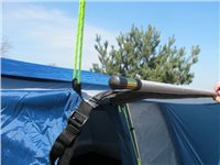 Kampa Connecting Pole and Clamp Set