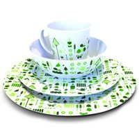 Olpro 16 Piece Bewdley Melamine Set