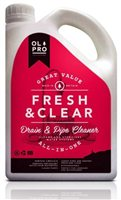 Olpro Fresh & Clear - Drain & Fresh Water Pipe Cleaner - 2Ltr