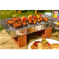 Bar Be Quick Instant Disposable Barbecue (Option: Party Size XL)