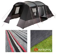 Sprayway Prairie 4 Tent Package Deal
