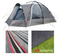 Sprayway Gorge 4 Tent Package Deal
