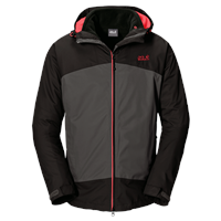 Jack Wolfskin Frost Wave 3 in 1 Mens Jacket