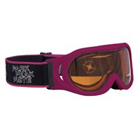Manbi Whizz Kids Ski Goggles (Option: Magenta / Orange Lens)