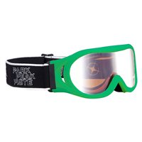 Manbi Whizz Kids Ski Goggles (Option: Neon Green / Mirror Lens)