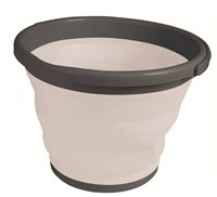Kampa Dometic Folding Bucket (Option: 10 Litre GREY)