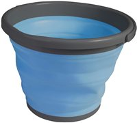 Kampa Dometic Folding Bucket (Options: 5 Litre BLUE, 10 Litre BLUE)