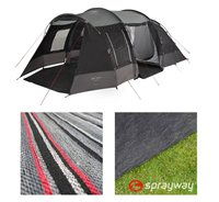Sprayway Meadow 4 Tent Package Deal