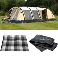 Kampa Croyde 6 AIR Classic 2016 Package Deal