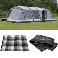 Kampa Croyde 6 AIR Tent 2016 Package Deal