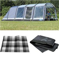 Kampa Hayling 6 AIR Tent 2016 Package Deal