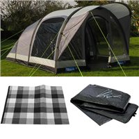 Kampa Brean 4 AIR Tent 2016 Package Deal