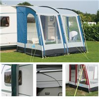Kampa Rally 260 Package Deal 2015 Lagoon Blue