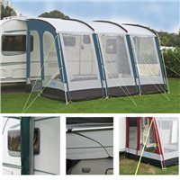 Kampa Rally 390 Package Deal 2015 Lagoon Blue