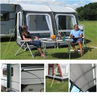 Kampa Rally Pro 330 Caravan Awning Package Deal 2016 Series 2