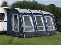 Kampa Rally 390 All Season Caravan Awning 2015
