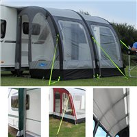 Kampa Rally AIR 260 Caravan Awning Package Deal 2016