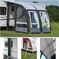 Kampa Rally 260 Air Pro Package Deal 2015 Series 2