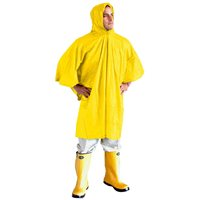Summit Yellow PVC Poncho with Hood 2018