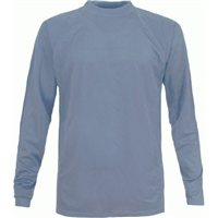 Trespass Parson Thermal Base Layer Top  (Options: Ladies M / Mens S (BLUE), Ladies L / Mens M (BLUE), Ladies XL / Mens L (BLUE))
