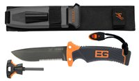 Bear Grylls by Gerber Ultimate Fixed Blade Knife Serrated