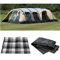 Kampa Studland 8 Classic AIR Tent 2016 Package Deal