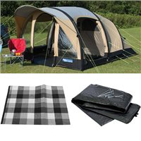 Kampa Brean 4 Classic AIR Tent 2016 Package Deal
