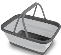 Kampa Folding Washing Bowl  (Option: Large - Grey)
