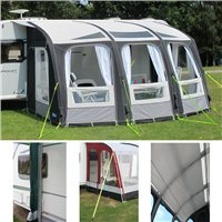 Kampa Rally Ace AIR 400 Awning Package Deal 2016