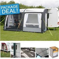 Kampa Rally AIR Pro 390 Awning Package Deal 2016