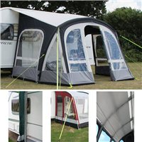 Kampa Fiesta AIR Pro 350 Awning Package Deal 2016