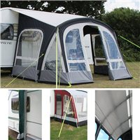 Kampa Fiesta AIR Pro 420 Awning Package Deal 2016